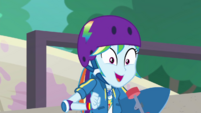 """Rainbow Dash """"because today is"""" EGDS32"""