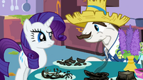 """Rarity's father """"you gonna eat that?"""" S2E5"""