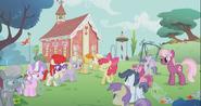 S02E06 Kucyki z klasy patrzą na Apple Bloom