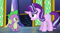 """Spike """"sure she'd want to hear"""" S6E1"""