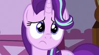 Starlight Glimmer feeling sorry for Rarity S7E14