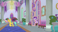 Starlight calls out to Twilight and Spike S9E4