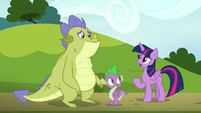 """Twilight """"you crashed in Ponyville"""" S8E24"""