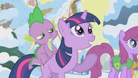 Twilight Sparkle is excited too S1E11