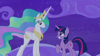 Twilight Sparkle trying to be honest S8E7