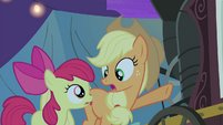 """Applejack """"Because he's part of the act!"""" S4E20"""