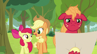 """Applejack """"just one more hill to go!"""" S9E10"""