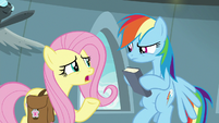 """Fluttershy """"I guess he's a new writer"""" S9E21"""