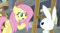 """Fluttershy """"I know you can't talk"""" S9E18"""