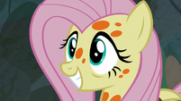 Fluttershy smiling with pride S7E20