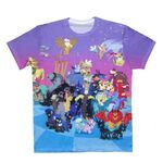 MLP Villains Allover T-shirt front WeLoveFine