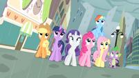 Main cast in the rain S4E08