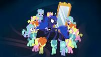 Princess Luna trapped by dream ponies S7E10