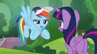 "Rainbow Dash ""somepony who isn't me"" S9E15"