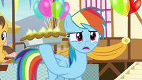 Rainbow Dash -staring more than usual- S7E23
