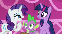 """Rarity """"we were at Sweet Apple Acres and"""" S5E22"""