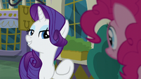 """Rarity """"when it comes to food"""" S6E12"""