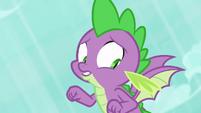Spike realizes he flew too fast S8E11
