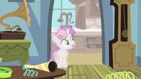 Sweetie Belle seeing Luna left S4E19