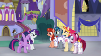 Twilight and unicorns come to an agreement S9E17