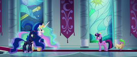 Twilight meeting with the other princesses MLPTM