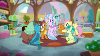 Young Six in Fluttershy's kindness class S8E2