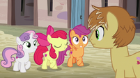 """Apple Bloom """"the Cutie Mark Crusaders are..."""" S7E8"""