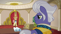 Flam --what did you want to see me about--- S6E20