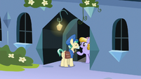 Mail Pony delivering mail to Sapphire Joy S8E8