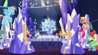 Mane Six and Pillars of Equestria making a plan S7E26