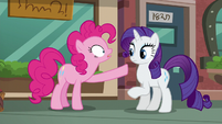 """Pinkie Pie """"And if you're coming with us, you can look at boutique"""" S6E3"""