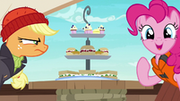 Pinkie Pie --I brought food too!-- S6E22