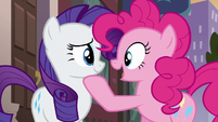 Pinkie Pie --it doesn't matter what you get us-- S6E3