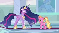 "Princess Twilight ""friendships take work"" S9E26"