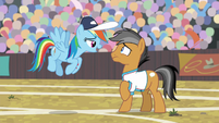"Rainbow Dash ""I've got your flank"" S9E6"