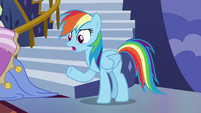 """Rainbow Dash """"trying to tell me how cool I am!"""" S7E14"""
