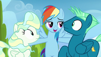 """Rainbow Dash """"you can either stay mad"""" S6E24"""