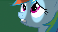 Rainbow Dash can't worry S2E21