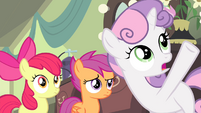 Sweetie -doing something completely myself- S4E19