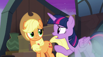 """Twilight """"stars can move slowly over time"""" S8E21"""