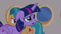 Twilight Sparkle sad about missing the Northern Stars S7E22