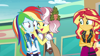 """Vignette to Rainbow Dash """"be yourself"""" EGROF"""