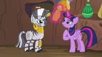 Zecora --this potion will break the spell-- S5E22