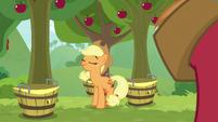 Applejack looking proud of herself S9E10