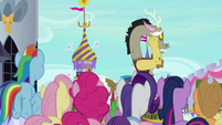 Discord turning away in shame S9E24