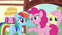 "Pinkie Pie ""that makes more sense"" S6E11"