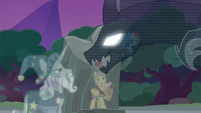 """Pony of Shadows """"you summon me at your peril"""" S7E25"""