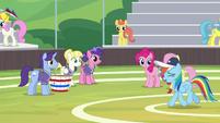 "Rainbow ""you guys were amazing!"" S9E15"