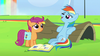 "Rainbow Dash ""I am pretty good at napping"" S7E7"