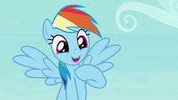 "Rainbow Dash ""with class run my way"" S8E2"